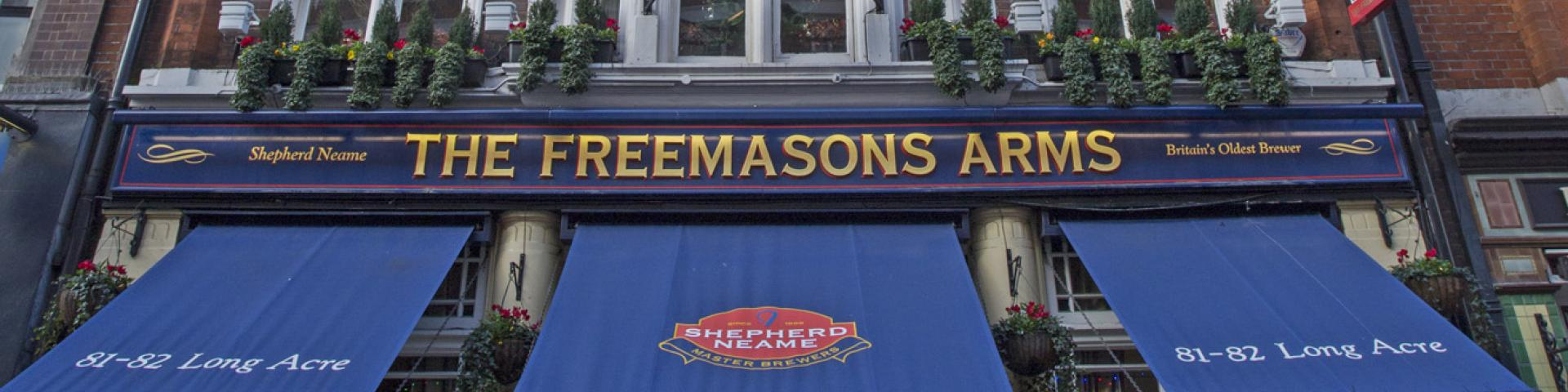 The Freemasons Arms Covent Garden