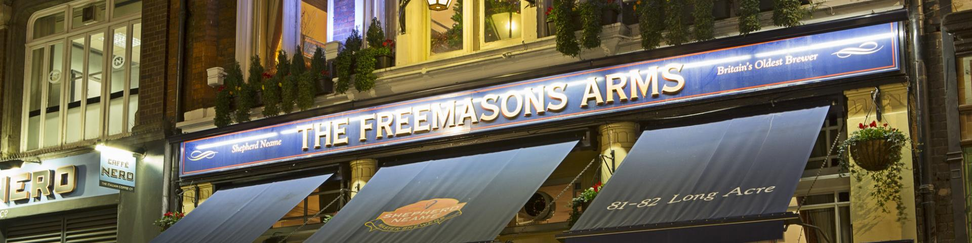 The Freemasons Arms Covent Garden At Night